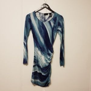 New york and company size small blue dress